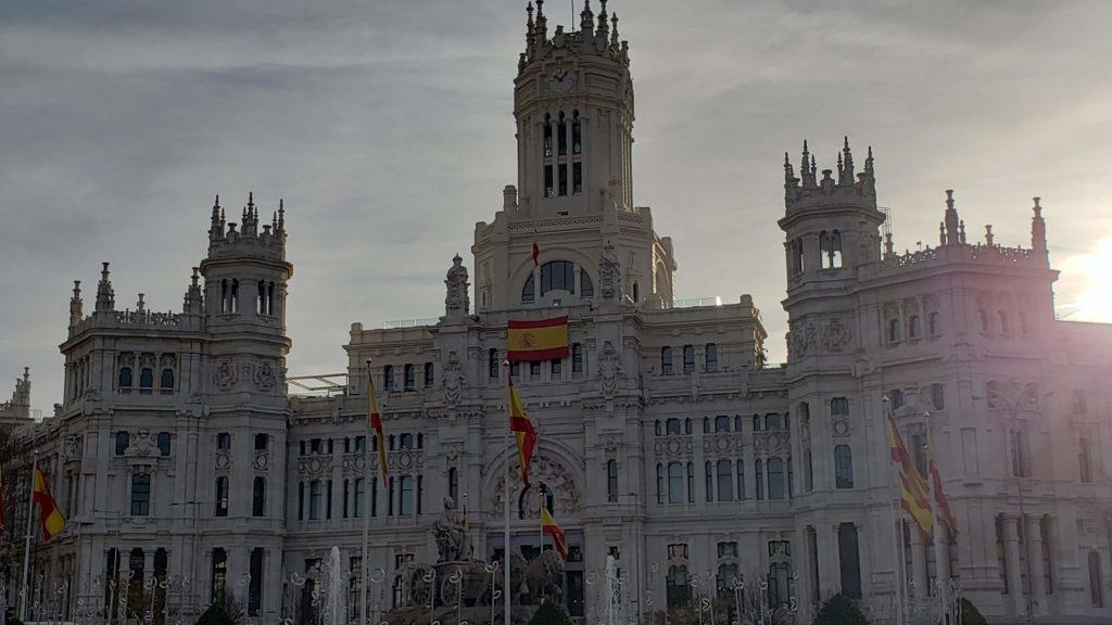 Palacio de Cibeles(Madrid)