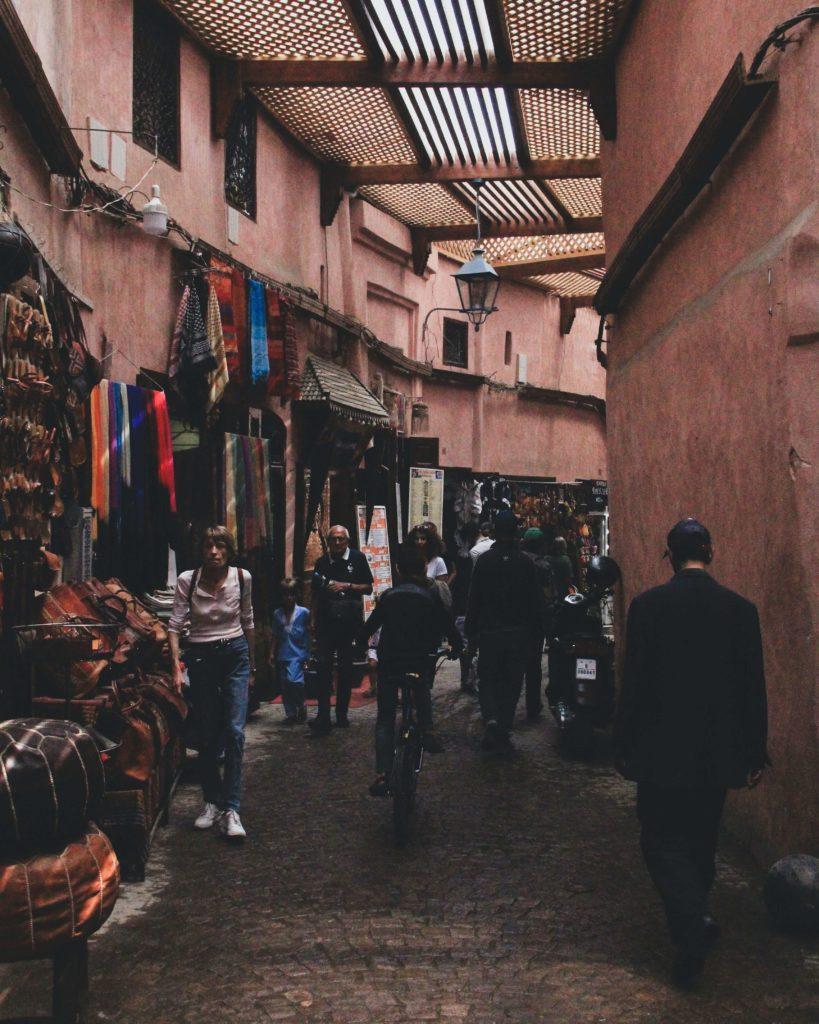 スーク マラケシュ モロッコ