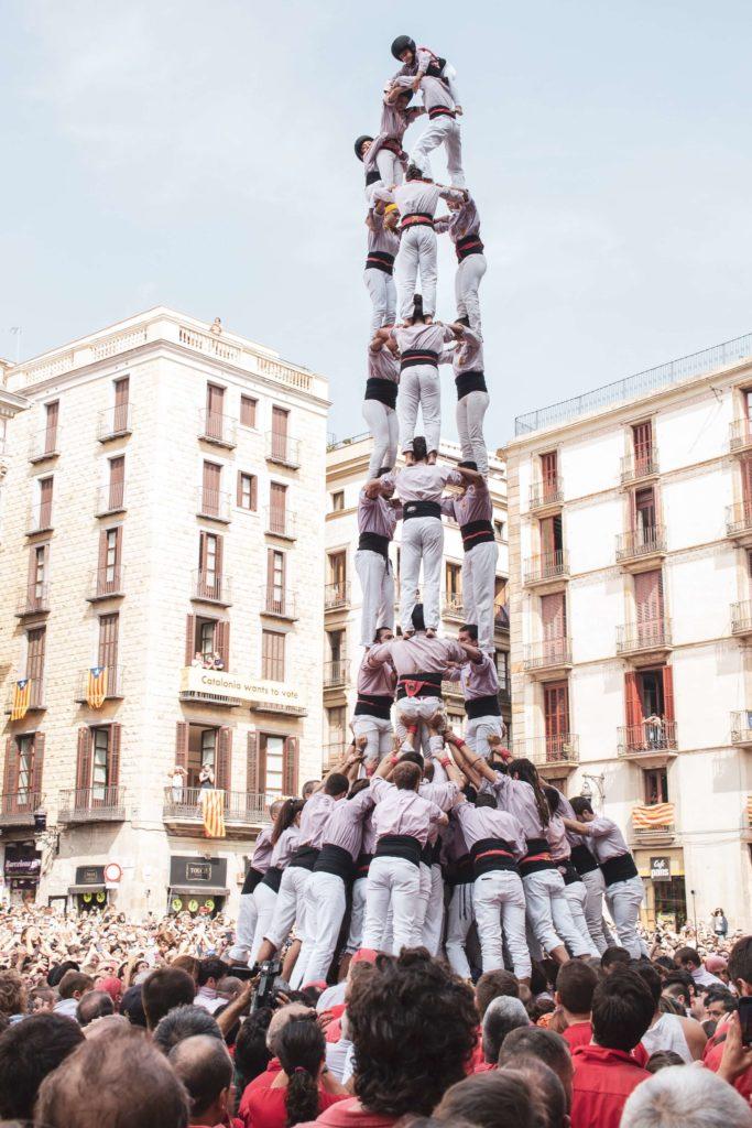 スペイン 人間の塔