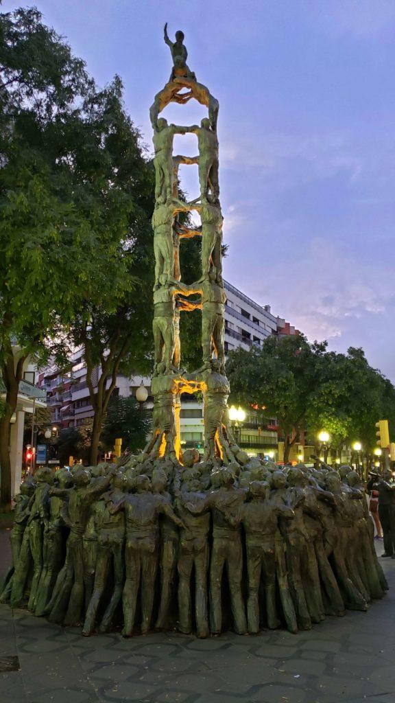 タラゴナ 人間の塔