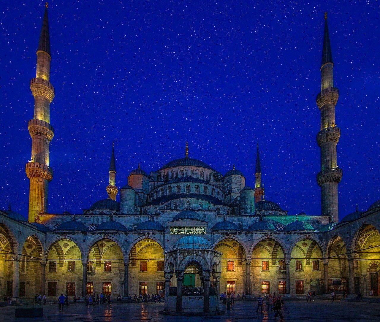 モスク トルコ 世界遺産
