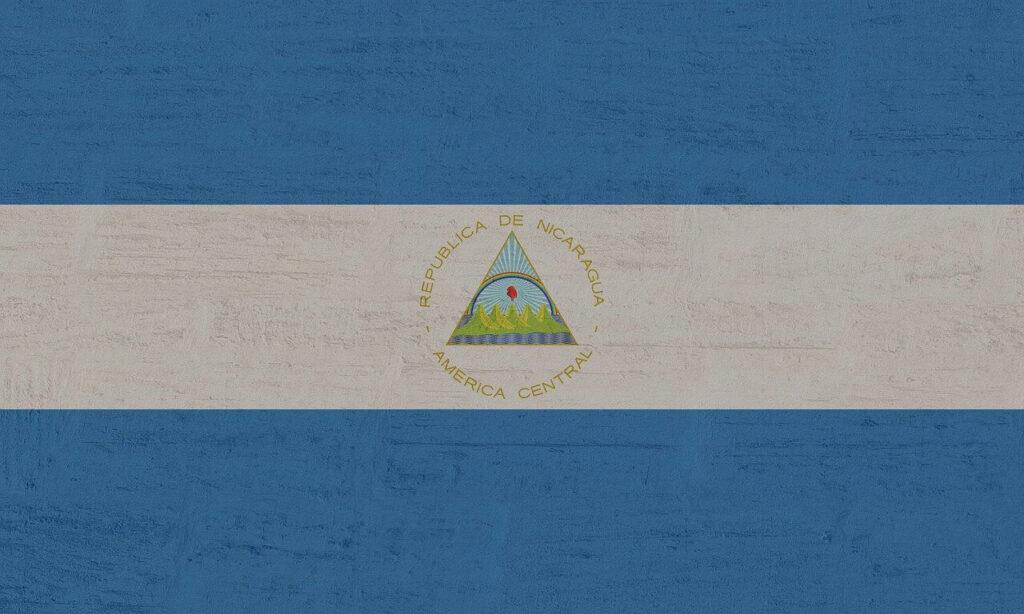 ニカラグアの国旗